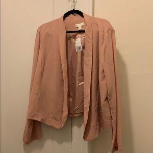 Dusty pink career jacket